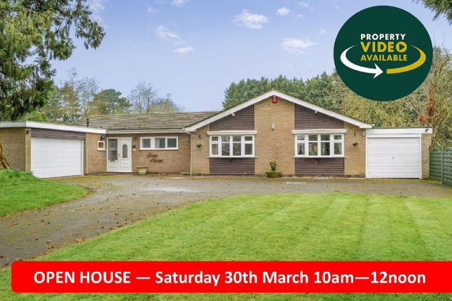 Thumbnail Bungalow for sale in The Woodlands, Market Harborough, Leicester