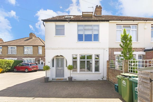 Thumbnail Semi-detached house for sale in Manor Lane, Sunbury-On-Thames
