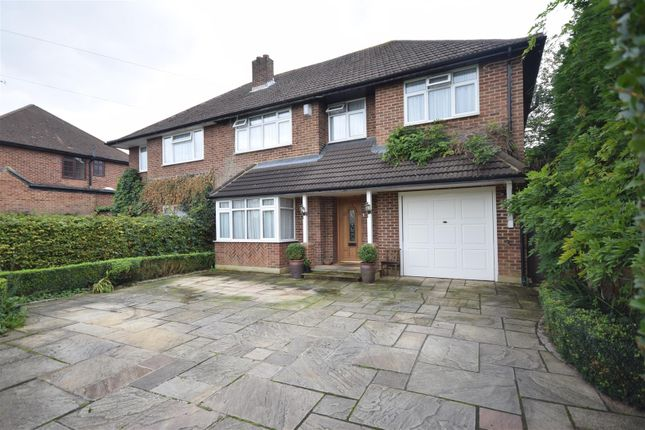 4 bed semi-detached house for sale in Bramley Way, Ashtead