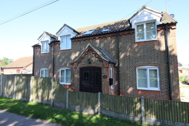 Thumbnail Detached house for sale in Bygone, Main Road, Fleggburgh, Great Yarmouth