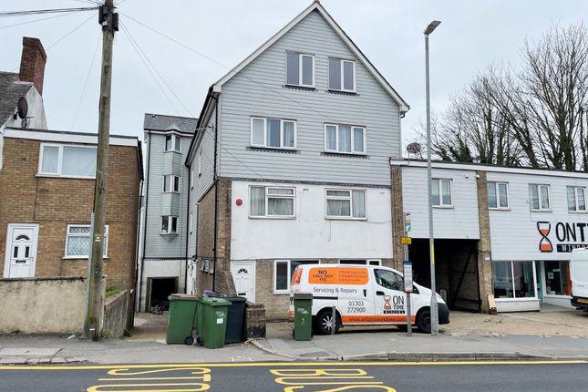 1 bed flat for sale in Flat 3, 39 Risborough Lane, Folkestone, Kent CT19