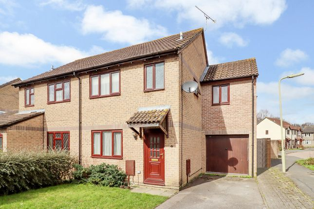 Thumbnail Semi-detached house for sale in Bryony Gardens, Horton Heath, Eastleigh