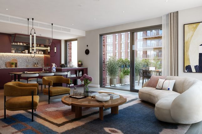 1 bed flat for sale in Embassy Gardens Marketing Suite, 3 Viaduct Gardens, Nine Elms, London SW11