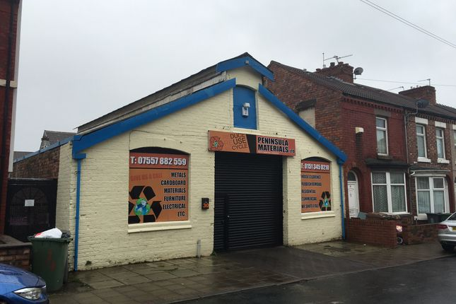 Parking/garage for sale in Charlotte Road, Wallasey