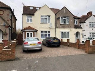 Thumbnail Semi-detached house for sale in Chatsworth Crescent, Hounslow, Greater London