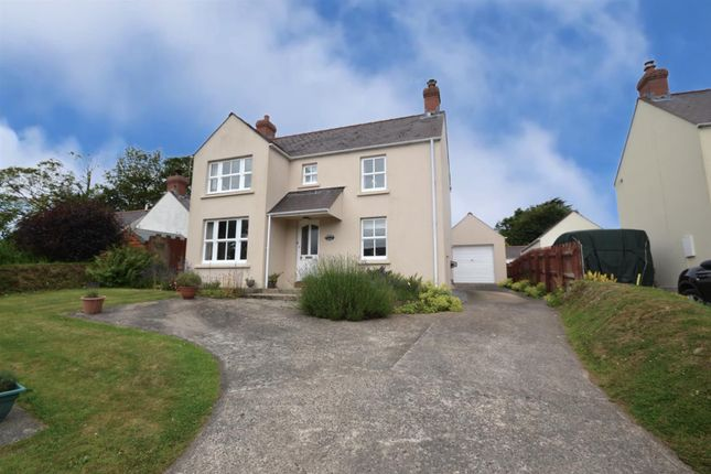 3 bed detached house for sale in Chapel Road, Dwrbach, Fishguard SA65