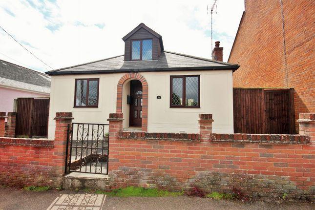 Thumbnail Detached bungalow for sale in Regent Street, Rowhedge, Colchester, Essex