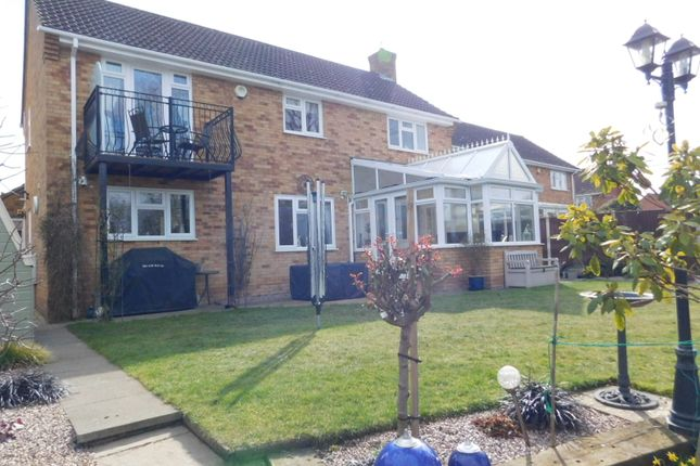 Thumbnail Detached house for sale in Ivel Close, Langford, Biggleswade, Beds