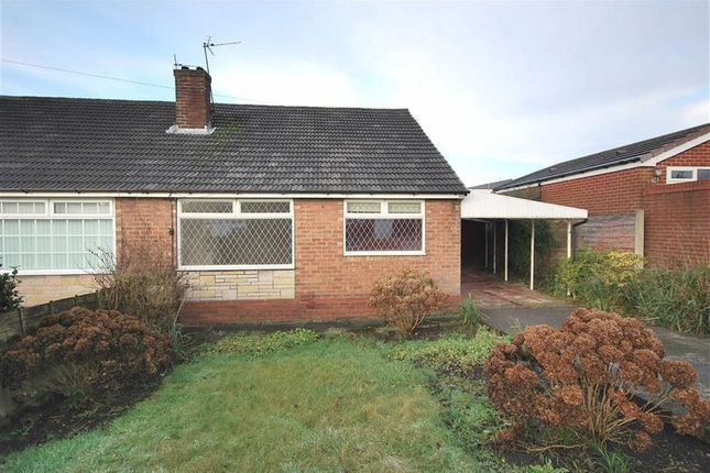 Thumbnail Semi-detached bungalow to rent in Barnfield Road, Wardley, Swinton, Manchester