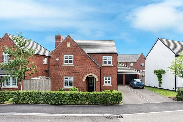 Thumbnail Detached house for sale in Holford Drive, Winsford