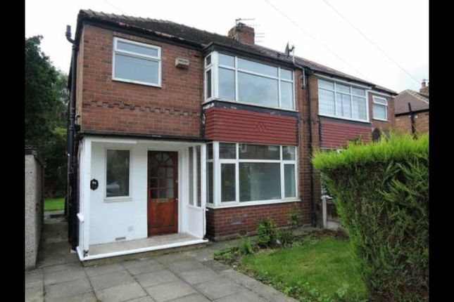 Thumbnail Semi-detached house to rent in Saville Road, Cheadle