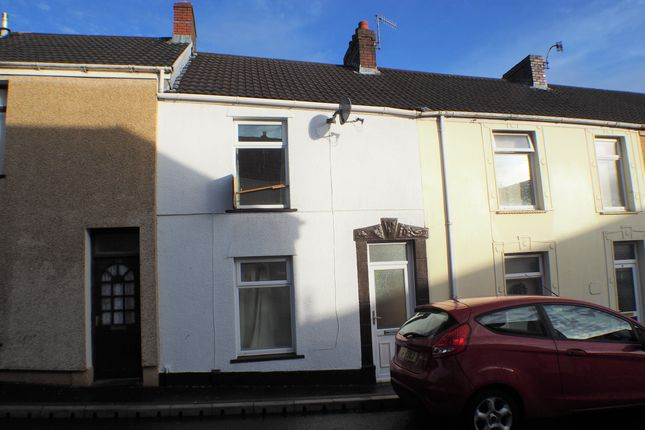 Thumbnail Terraced house to rent in Cae Rowland Street, Swansea