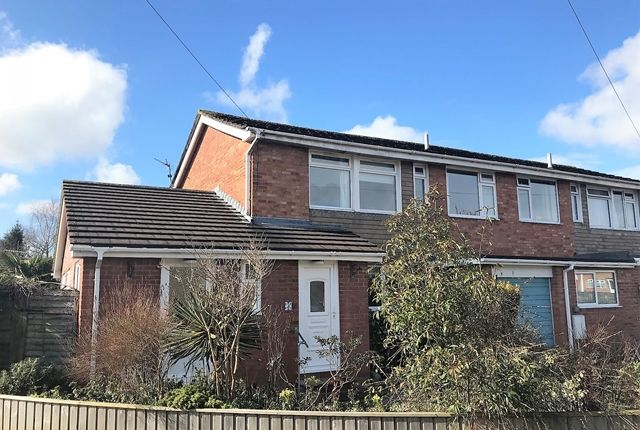 Thumbnail Semi-detached house for sale in Salisbury Avenue, Feniton, Honiton
