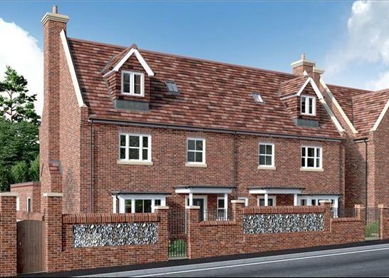 Thumbnail Semi-detached house for sale in Constable Place, East Street, Saffron Walden