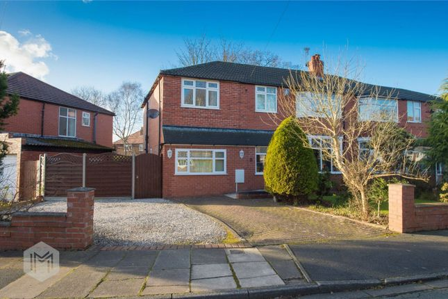 Thumbnail Semi-detached house for sale in Maple Grove, Worsley, Manchester