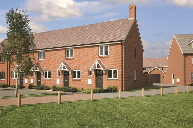 Thumbnail End terrace house for sale in Fogwell Road, Botley, Oxford