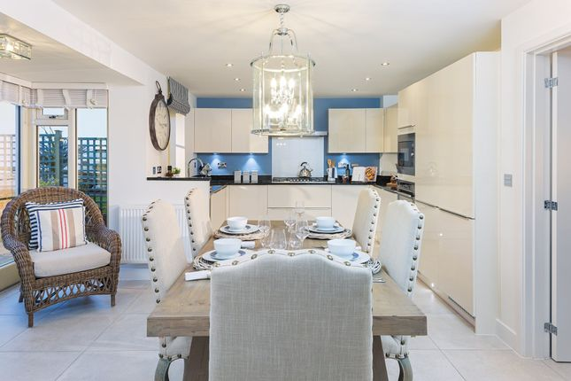"Thumbnail Detached house for sale in ""Holden"" at Dragon Rise, Norton Fitzwarren, Taunton"