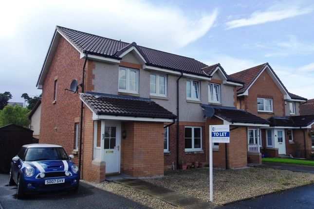 Thumbnail End terrace house to rent in Kennedy Way, Airth