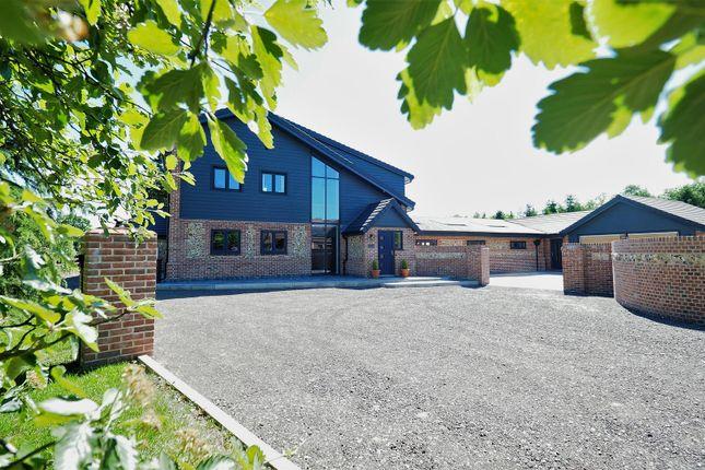 Thumbnail Semi-detached house for sale in Whitebeam, Rushbrooke Lane, Bury St. Edmunds