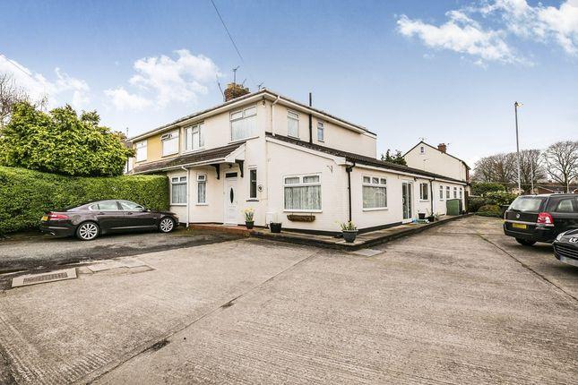 Thumbnail Semi-detached house for sale in Rossmore Gardens, Little Sutton, Ellesmere Port