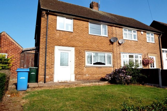 Thumbnail Semi-detached house to rent in Plantation Hill, Worksop
