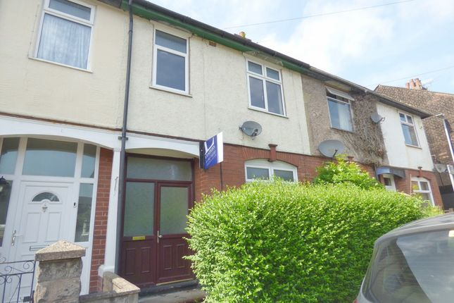 Thumbnail Terraced house to rent in Riseley Road, Hartshill, Staffs
