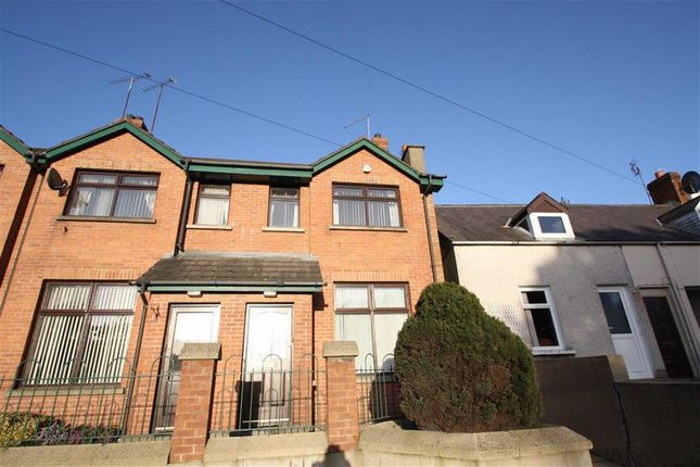 Thumbnail End terrace house for sale in Red Row, Ballynahinch, Down