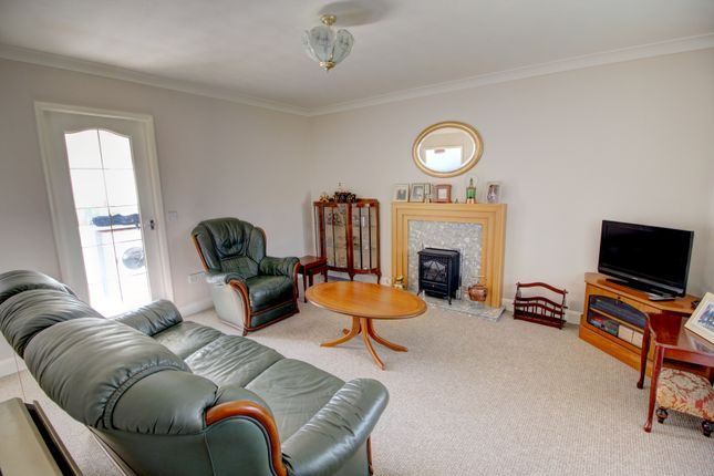 Thumbnail Terraced bungalow for sale in St. Claires Court, Lincoln