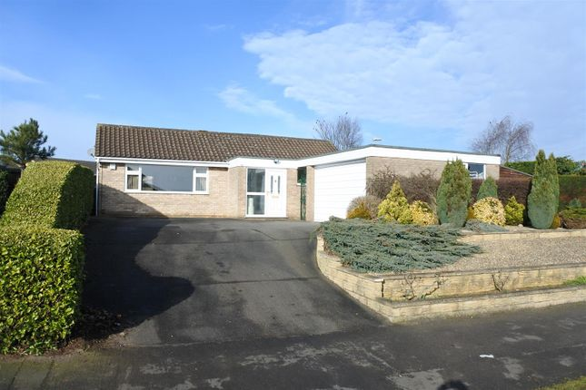 Thumbnail Detached bungalow for sale in Barrowby Gate, Grantham