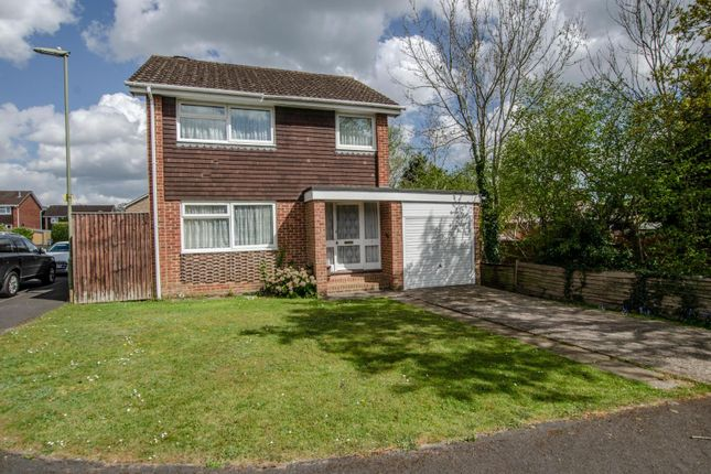 Thumbnail Detached house for sale in Kimberley Close, Fair Oak, Eastleigh