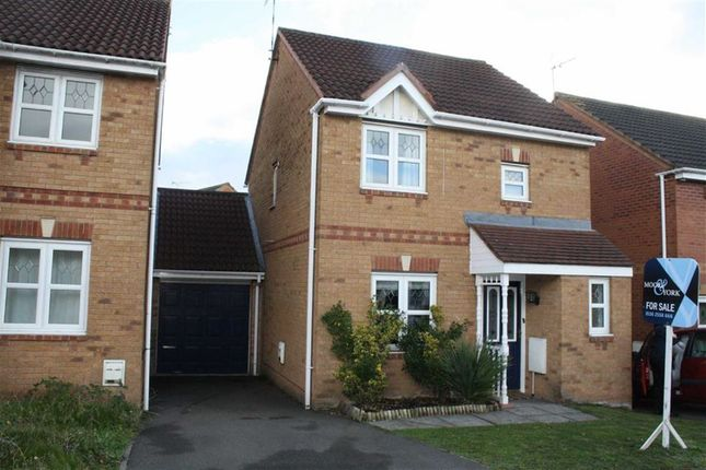 Thumbnail Link-detached house for sale in Seaton Road, Thorpe Astley, Braunstone, Leicester