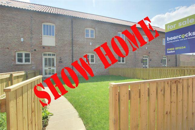 Thumbnail Terraced house for sale in Enholmes Farm, Patrington, East Riding Of Yorkshi
