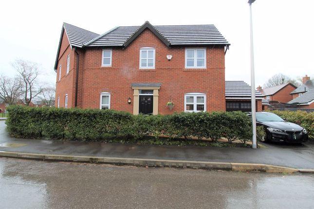 Thumbnail Semi-detached house for sale in Commissioner Square, Paddington, Warrington