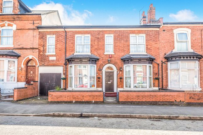 Thumbnail Terraced house for sale in St Peters Road, Handsworth, Birmingham
