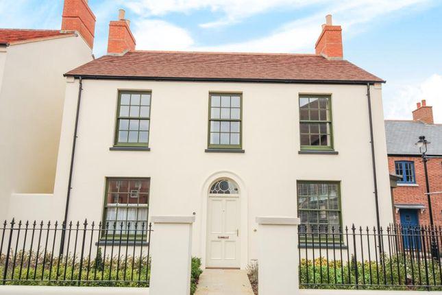 Thumbnail Detached house for sale in Hamslade Green, Poundbury, Dorchester