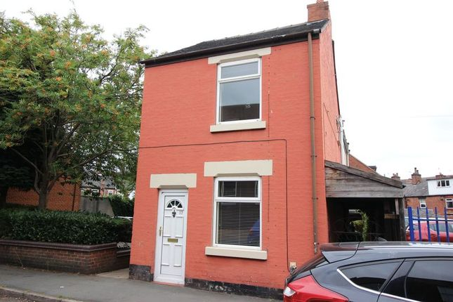Thumbnail Detached house for sale in Belle Vue, Leek, Staffordshire