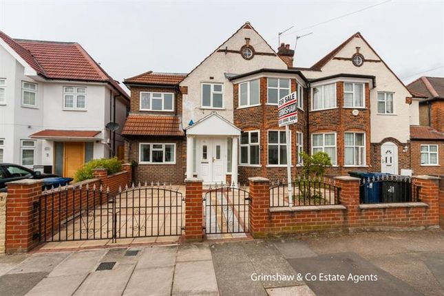 Thumbnail Property for sale in Cecil Road, Near North Acton Playing Fields, Acton, London