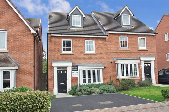 Thumbnail Semi-detached house for sale in Bedale Road, The Oaks, Whitwood