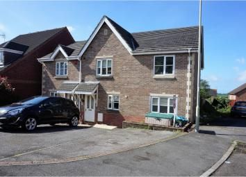 Thumbnail Semi-detached house for sale in Kenfig Hill, Bridgend