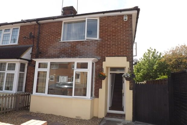 Thumbnail End terrace house to rent in Stapleford Road, Luton