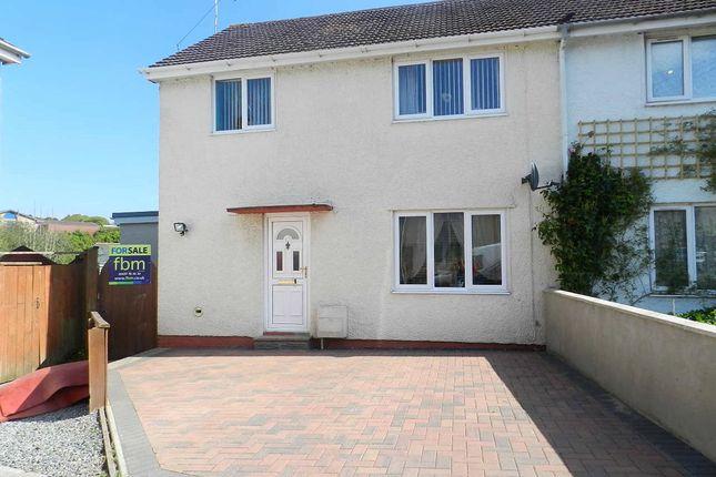Thumbnail Semi-detached house for sale in Glen View, Merlins Bridge, Haverfordwest