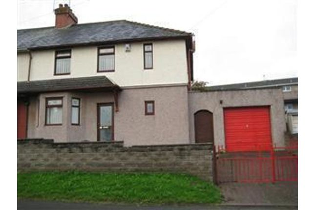 Front of Hywel Crescent, Barry CF63