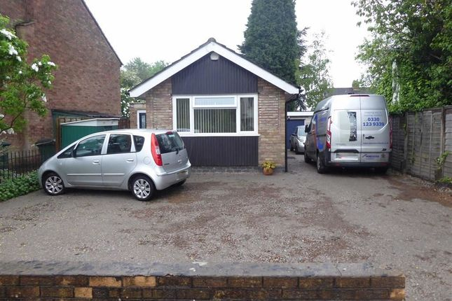 Thumbnail Detached bungalow for sale in Old Church Road, Bell Green, Coventry