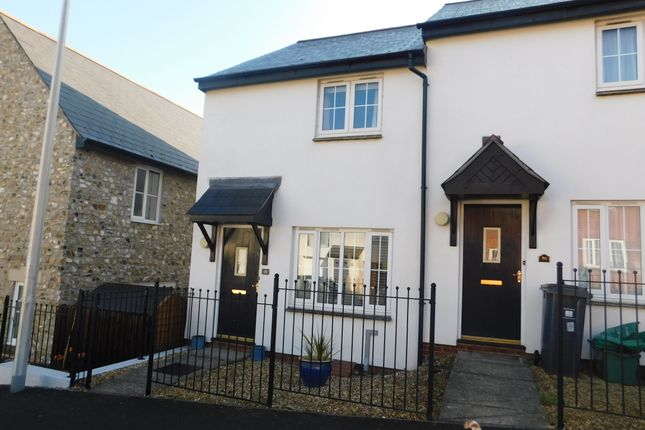 Thumbnail End terrace house to rent in Flax Meadow Lane, Axminster