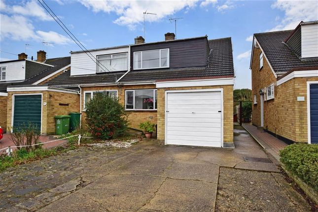 Thumbnail Semi-detached house for sale in Perry Street, Billericay, Essex