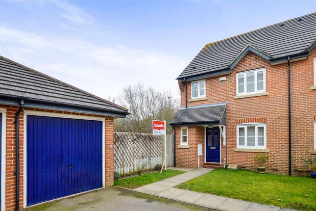 Thumbnail Semi-detached house to rent in Wood Lane, Kingsnorth, Ashford