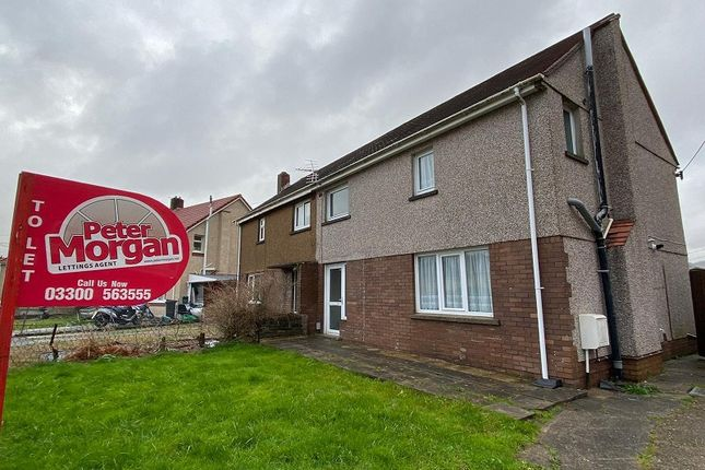 Thumbnail Semi-detached house to rent in Llys Wenallt, Tonna, Neath, Neath Port Talbot.