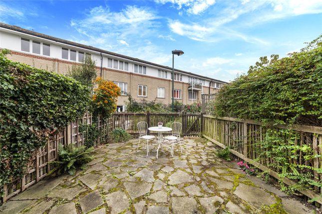 Patio Garden of Bergholt Mews, Camden, London NW1