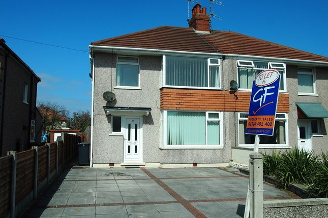 Thumbnail Semi-detached house to rent in Walton Avenue, Bare, Morecambe