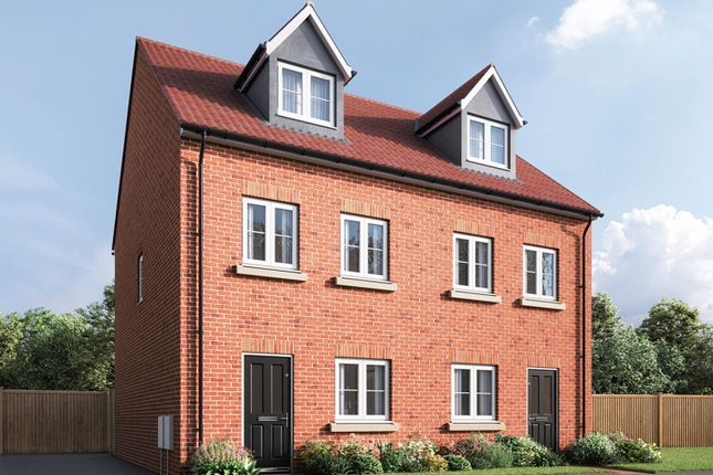 """Terraced house for sale in """"The Wyatt"""" at Spellowgate, Driffield"""